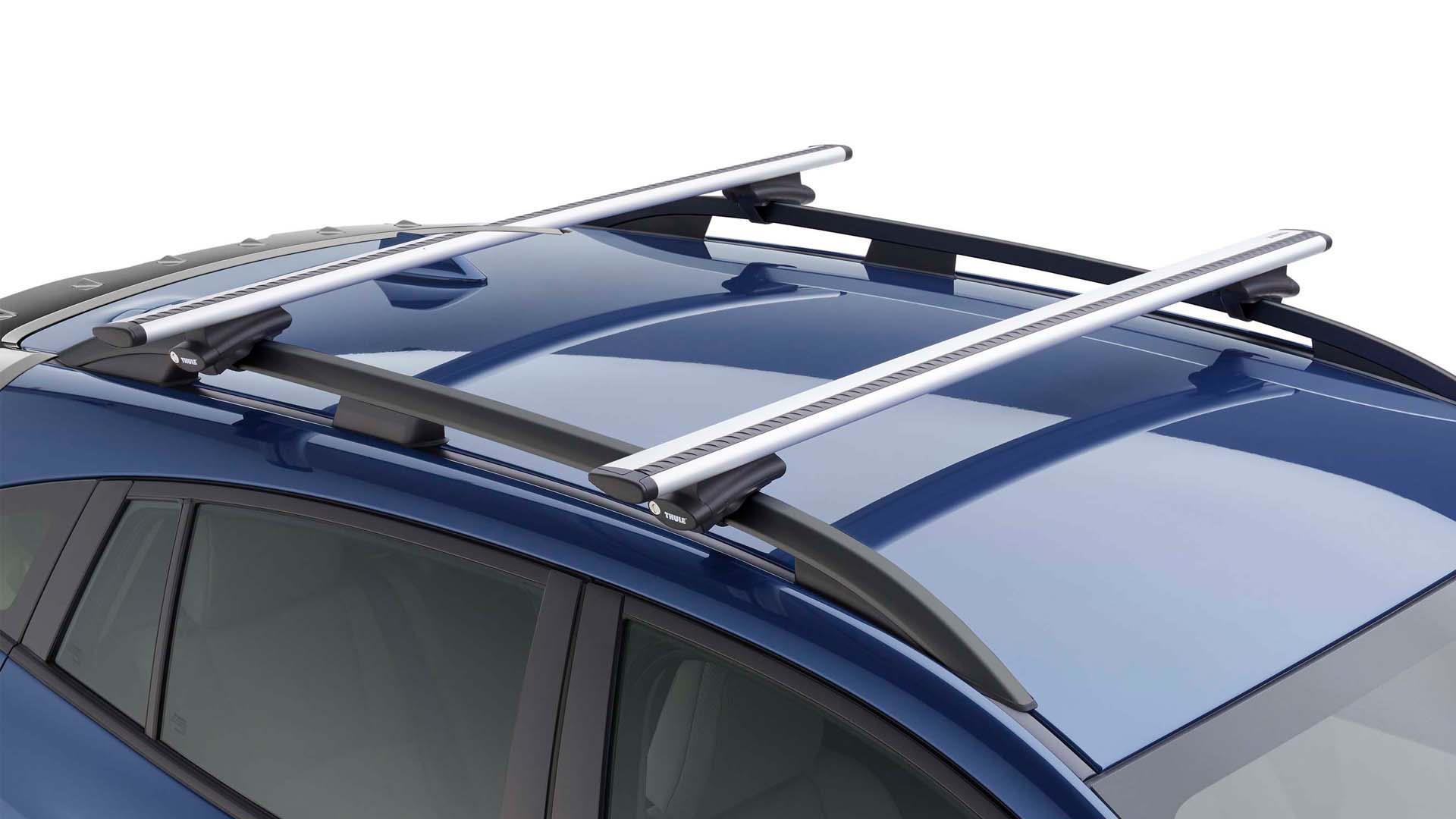 2018 Subaru Crosstrek Thule Crossbar Set Aero Extended
